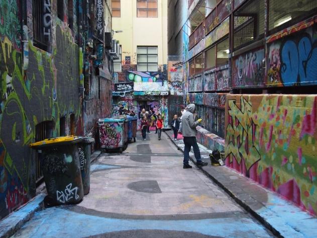Melbourne Hoiser lane